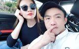 """Đàm Thu Trang đồng hành Cường Đô la đi """"phượt"""" bằng siêu xe"""