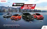 """Honda VN: Giá bán lẻ ôtô nhập khẩu nguyên chiếc từ Thái Lan và Chương trình KM đặc biệt """"Đặt xe ngay, Đặc quyền trao tay"""""""