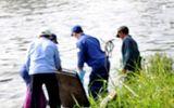 Điều tra vụ thi thể người đàn ông bị trói chân tay trôi trên sông