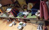 Dân mạng tranh cãi vụ cô gái ngủ với nồi cơm điện, bát đũa trên giường ký túc xá