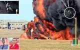 Phi công Anh may mắn thoát chết khi máy bay chiến đấu nổ tung trên không