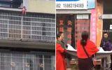 Tin thế giới - Kịch tính cảnh người đi đường dùng chăn hứng được em bé rơi từ tầng 5 xuống