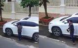 Tin tức - Clip: Trộm mặt gương xe Lexus trong 10 giây ở Nam Định