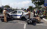 Tin tức - 6 xe tông nhau liên hoàn, 5 người trọng thương