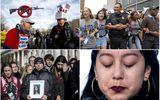 Tin thế giới - Người già, cảnh sát... xuống đường tuần hành chống súng đạn