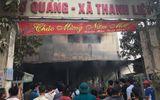 Chủ tiệm vàng báo mất 200 triệu khi hỗn loạn trong vụ cháy chợ Quang