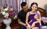Chí Anh và vợ trẻ kém 20 tuổi lên chức cha mẹ lần thứ 2