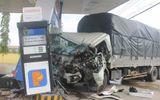 Vụ va chạm xe khách, ôtô tải đâm cây xăng: Nhân chứng kể phút kinh hoàng