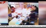 Chiếc iPhone đột ngột nổ tung trên tay một phụ nữ