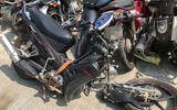 Nam thanh niên đâm xe vào cột điện khiến xe máy gãy đôi, tử vong tại chỗ
