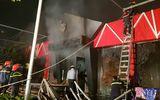 Hiện trường vụ cháy quán Five Beer Club ở Hải Phòng