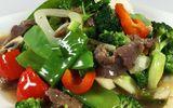 Thịt bò xào thập cẩm dinh dưỡng cho bữa cơm trưa