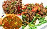 Bữa tối đơn giản với thịt bê xào sả ớt và canh chua thịt băm
