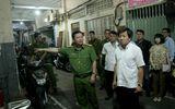 Ông Đoàn Ngọc Hải kiểm tra PCCC lúc nửa đêm