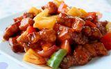 Món ngon ngày nghỉ: Món sườn rim dứa chua ngọt