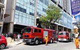 Chung cư cao cấp Fhome Đà Nẵng cháy, xe cứu hỏa khó tiếp cận