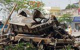 Vụ 2 container đâm nhau bốc cháy: Vợ chồng tài xế tử vong trong cabin