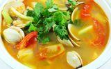 Món ngon bữa trưa: Canh ngao nấu chua thanh mát ngon cơm