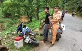 CSGT Mộc Châu truy đuổi tên trộm xe máy như phim hành động