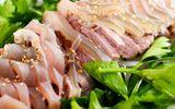 Món ngon bữa tối: Thịt bê hấp gừng sả chấm tương bần ngon hết ý