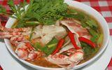 Món ngon bữa trưa: Vào bếp với món canh ghẹ nấu măng chua ngọt thanh