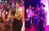 Tin tức giải trí - Trường Giang ngừng diễn, cầu xin khán giả đừng ném chai lên sân khấu