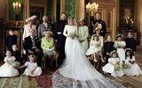 Ảnh cưới chính thức của Hoàng tử Harry và Nữ Công tước Meghan Makle