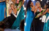 Tân Hoa hậu Mỹ cao 1m65 bật khóc khi giành vương miện