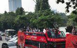 Hà Nội chính thức khai trương tuyến buýt 2 tầng mui trần tại phố cổ Hà Nội