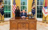 """Bất ngờ lý do cuộc gặp mặt của Tổng thống Trump và người mẫu """"siêu vòng 3"""" Kim Kardashian"""