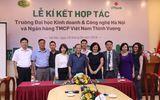 Lễ ký thỏa thuận hợp tác giữa Trường Đại học Kinh doanh và Công nghệ Hà Nội và Ngân hàng TMCP Thịnh Vượng (VP Bank)
