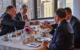 """Bữa tối đặc biệt của """"trùm"""" tình báo Triều Tiên Kim Yong-chol tại New York"""