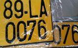 """Bộ Công an """"bác"""" đề xuất đổi màu biển số các phương tiện kinh doanh vận tải"""