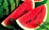 Những chú ý khi ăn dưa hấu để không làm tổn hại sức khỏe