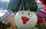 """Mắt tròn mắt dẹt với những củ, quả """"khổng lồ"""" ở lễ hội trái cây"""