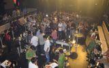 Đột kích quán Bar Asta, phát hiện 50 thanh niên dương tính với ma tuý