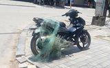 """CSGT dùng súng bắn lưới bắt người vi phạm giao thông mang """"vũ khí nóng"""""""