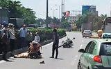 Tin tức - Xe công vụ va chạm với xe tải, một CSGT bị thương nặng