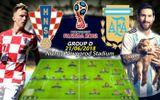 """Tin tức - """"Kèo thơm"""" World Cup 21/6: Argentina khó thắng Croatia"""