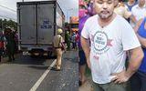 CSGT truy đuổi gần 100km bắt kẻ trộm ô tô tải như phim hành động