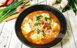 Cách làm canh chua nấu đậu thịt cho cả nhà ngon cơm