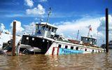 Chìm sà lan trên sông Sài Gòn do va chạm với tàu hàng Mông Cổ, 2 người mất tích
