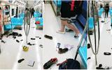 Video: Hàng trăm hành khách trên tàu điện ngầm vứt đồ đạc bỏ chạy vì một chú chuột