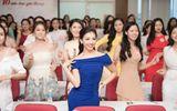 Dàn thí sinh phía Bắc Hoa hậu Việt Nam 2018 phô diễn tài năng trong buổi Sơ khảo