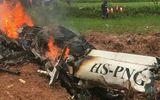 Thái Lan: Trực thăng rơi xuống cánh đồng, 3 người tử vong