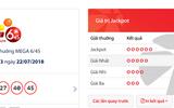 """Tin tức - Kết quả xổ số Vietlott hôm nay 22/7/2018: Jackpot hơn 17 tỷ """"án binh bất động"""""""