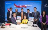Kinh doanh - Vietjet ký hợp đồng 100 tàu bay với Boeing tại triển lãm Hàng không lớn nhất thế giới Farnborough - London