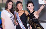 Phan Thị Mơ rạng rỡ chào đón dàn thí sinh Hoa hậu Đại sứ Du lịch Thế giới