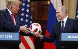 Quả bóng ông Putin tặng ông Trump có gắn chip điện tử