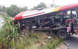 Vụ xe khách tông xe đầu kéo trên tuyến tránh Cai Lậy: 3 người tử vong